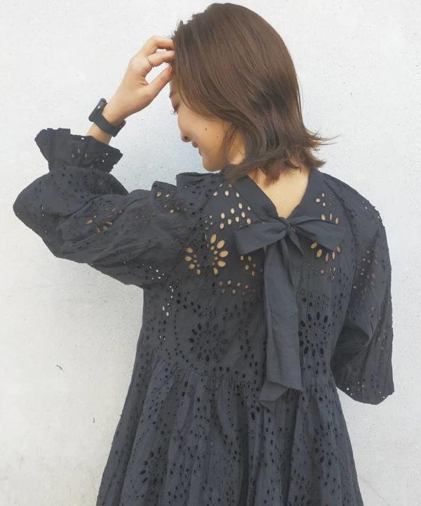 LuxyStar日本代購 COCO DEAL夏季折扣版美純棉雕花洋裝(原價5000元)